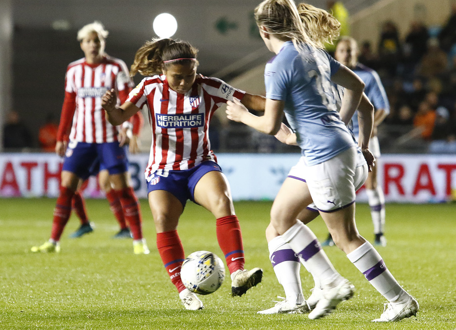 Temporada 19/20 | Manchester City - Atlético de Madrid Femenino | Leicy Santos