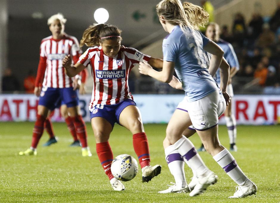 Temporada 19/20 | Manchester City - Atlético de Madrid Femenino | Leicy Santos
