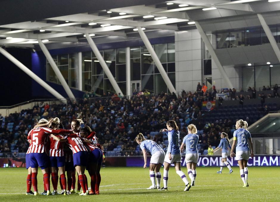 Temporada 19/20 | Manchester City - Atlético de Madrid Femenino | Celebración