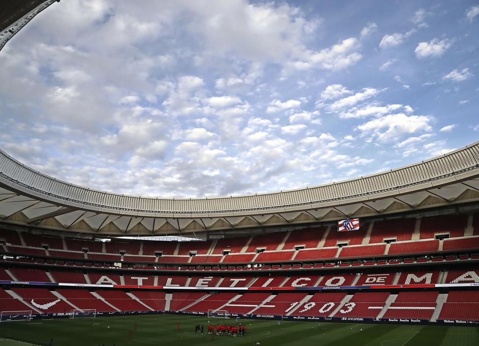 Temp. 19-20 | Entrenamiento 18-10-19 | Wanda Metropolitano