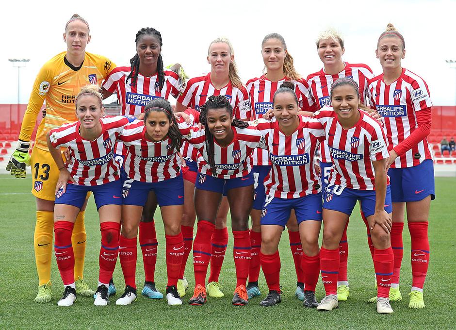 Temp. 19-20 | Atlético de Madrid Femenino - Madrid CFF | Once