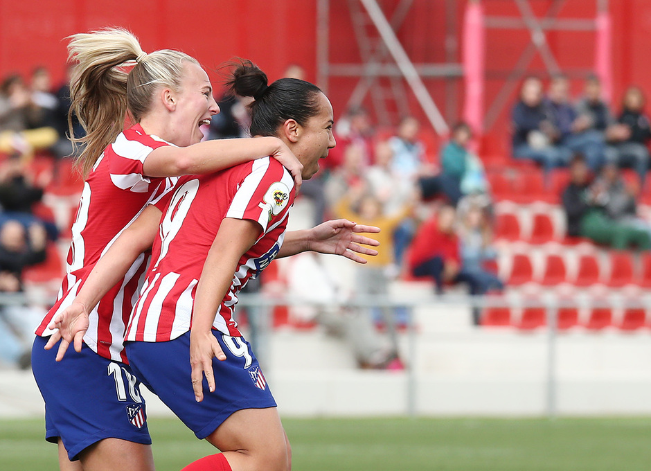 Temp. 19-20 | Atlético de Madrid Femenino - Madrid CFF | Celebración