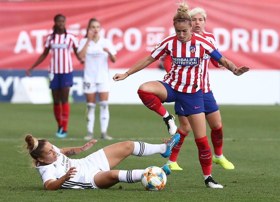 Temp. 19-20 | Atlético de Madrid Femenino - Madrid CFF | Ángela Sosa