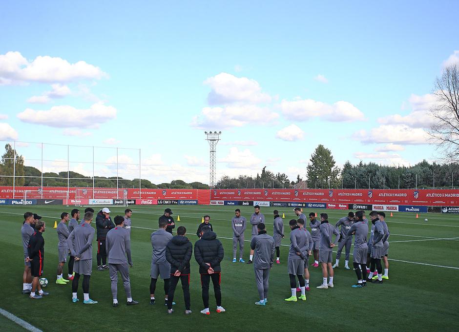 Temp. 19-20 | Entrenamiento Ciudad Deportiva Wanda |