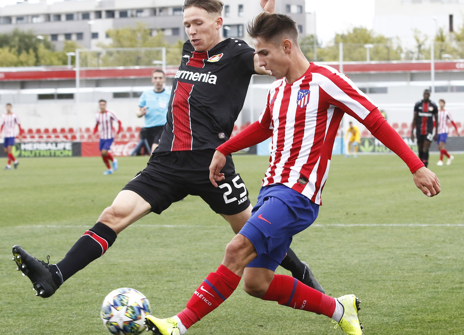 Temp. 19-20 | Youth League | Atlético de Madrid Juvenil A - Bayer Leverkusen | Medrano