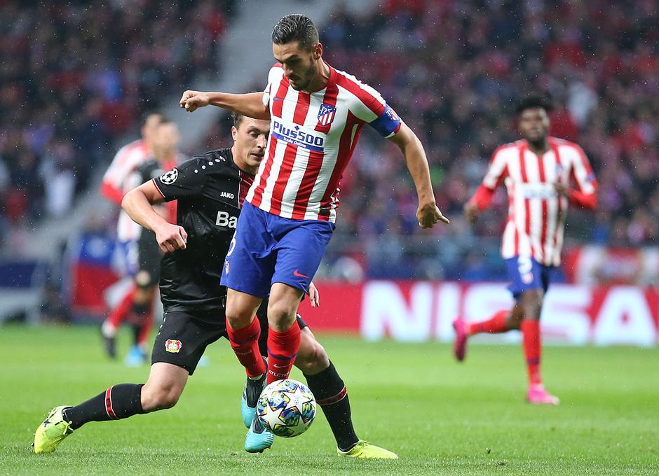 Temp. 19-20 | Atlético de Madrid - Bayer Leverkusen | Koke