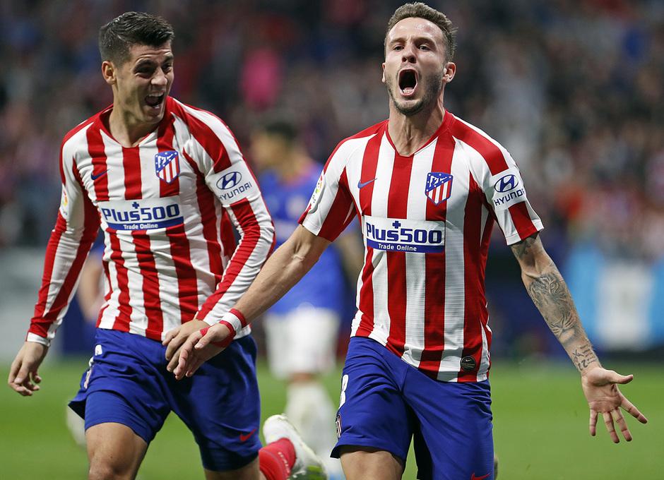 Temp. 19-20 | Atlético de Madrid - Athletic Club | Saúl y Morata