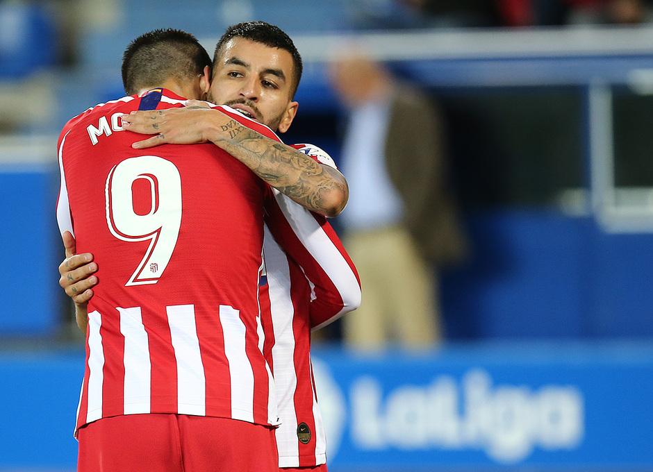 Temp. 19-20   Alavés-Atlético de Madrid   Morata y Correa