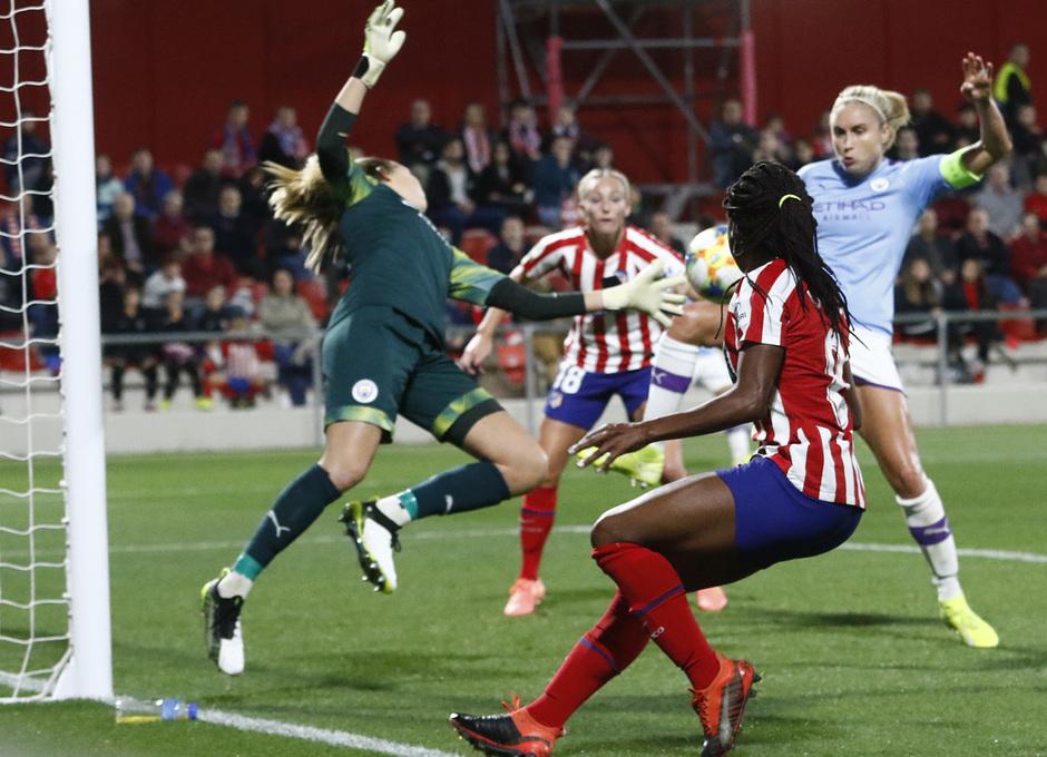 Temp. 19-20 | Atlético de Madrid Femenino-Manchester City | UWCL | Ludmila