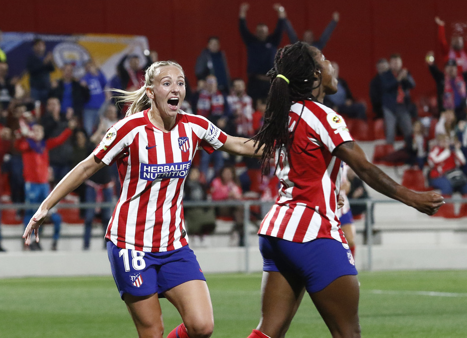 Temp. 19-20 | Atlético de Madrid Femenino-Manchester City | UWCL | Ludmila y Toni