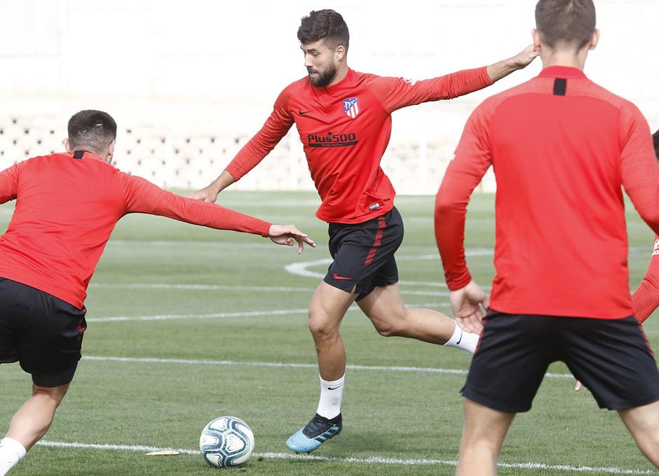 Temporada 19/20   Entrenamiento del primer equipo en la Ciudad Deportiva Wanda Atlético de Madrid   Felipe