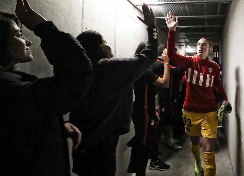 Temporada 19/20   La Otra Mirada   Atlético Femenino - Manchester City   Sari Van Veenendaal