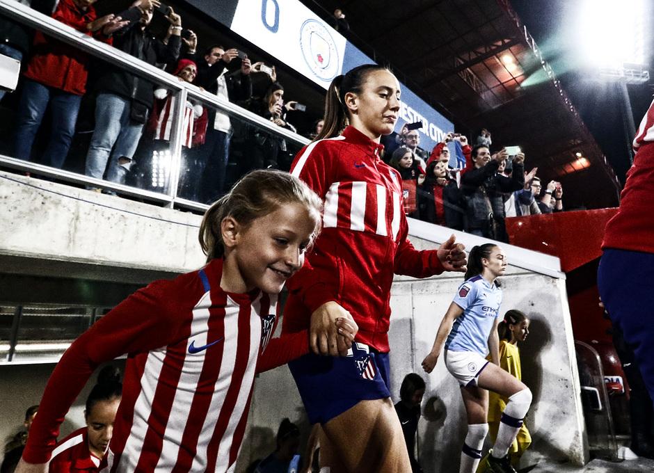 Temporada 19/20   La Otra Mirada   Atlético Femenino - Manchester City   Virginia Torrecilla