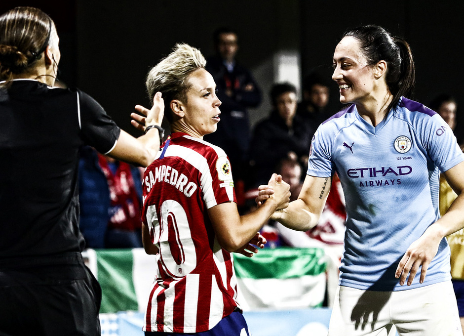 Temporada 19/20   La Otra Mirada   Atlético Femenino - Manchester City   Amanda