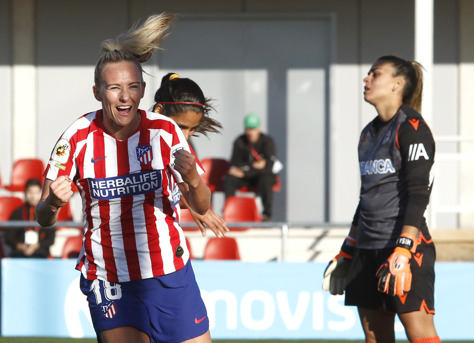 Temporada 19/20   Atlético de Madrid Femenino - Deportivo Abanca   Toni Duggan