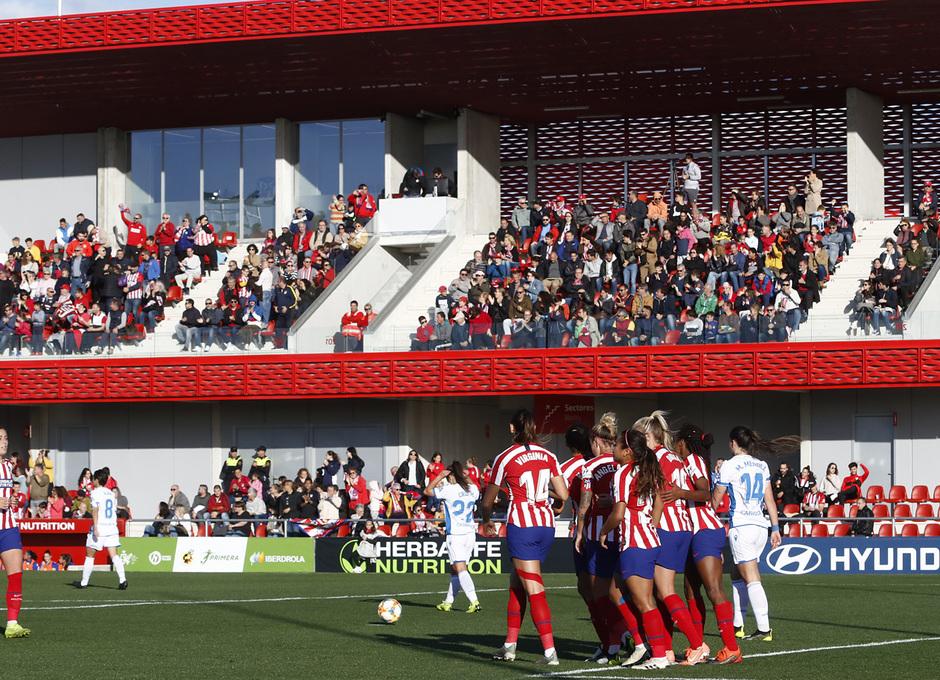 Temporada 19/20   Atlético de Madrid Femenino - Deportivo Abanca   Celebración