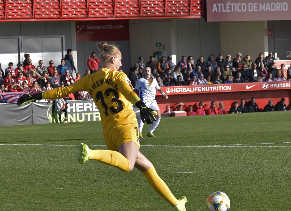 Temporada 19/20 | Atlético de Madrid Femenino - Deportivo Abanca | Sari van Veenendaal