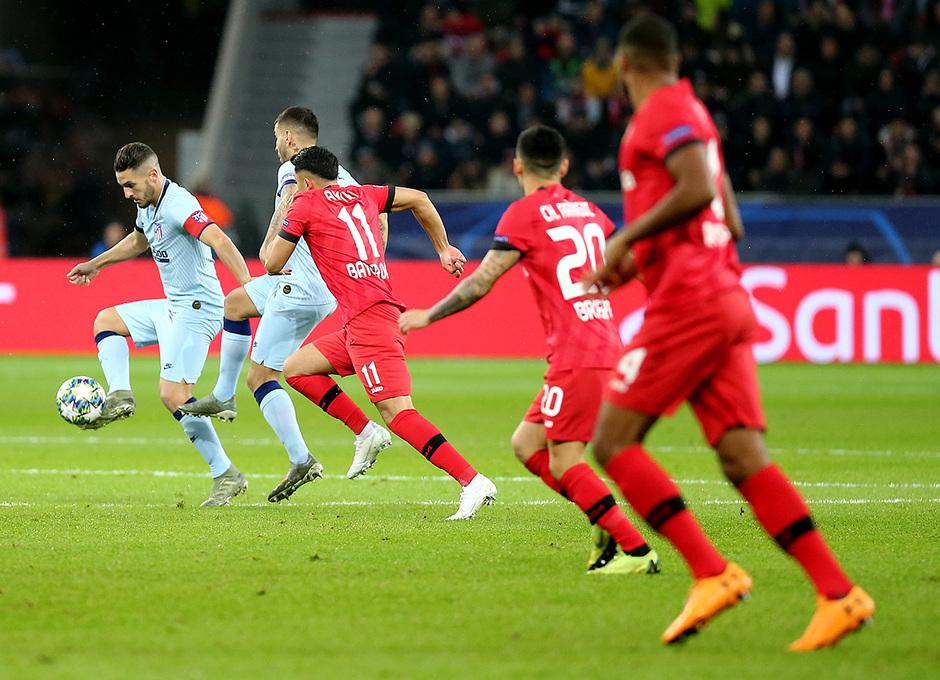 Temp. 19/20 | Bayer Leverkusen-Atlético de Madrid | Koke
