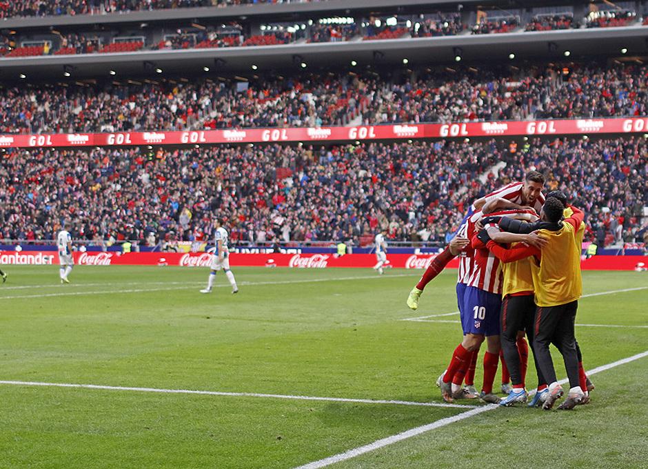 Temporada 19/20 | Atlético-Espanyol | Gol Morata