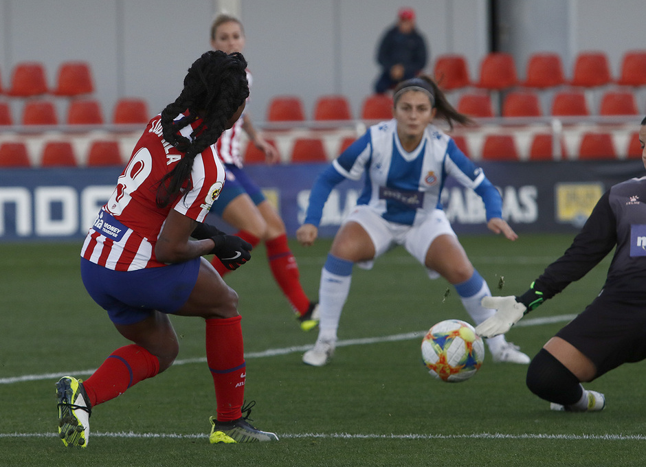 Temp 19/20 | Atlético de Madrid Femenino - Espanyol | Ludmila pase de gol