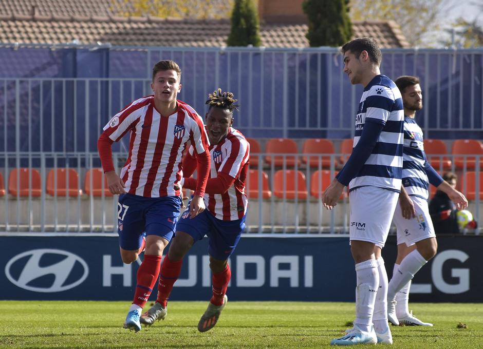 Temp 19/20   Atlético de Madrid B - Inter   Germán Valera