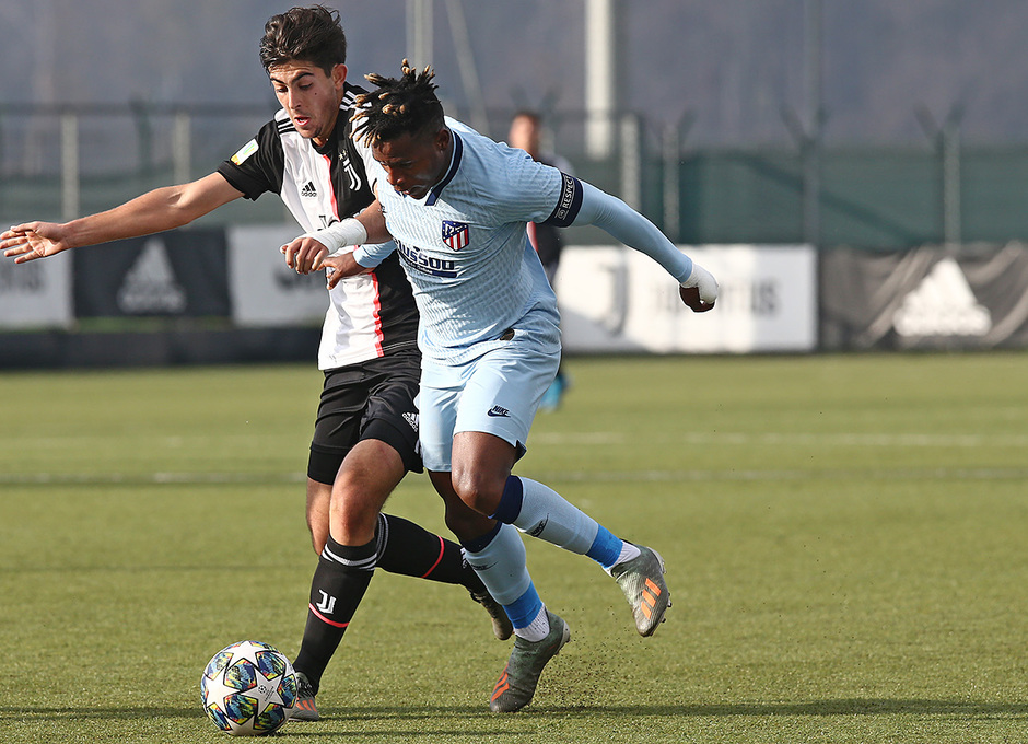 Temp. 19/20. Youth League. Juventus-Atlético de Madrid Juvenil A. Cedric
