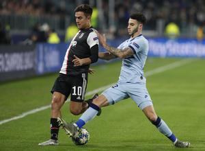 Temp. 19/20. Liga de Campeones. Juventus-Atlético de Madrid. Mario Hermoso