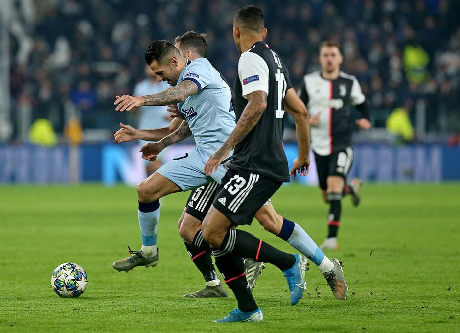 Temp. 19/20. Liga de Campeones. Juventus-Atlético de Madrid. Vitolo