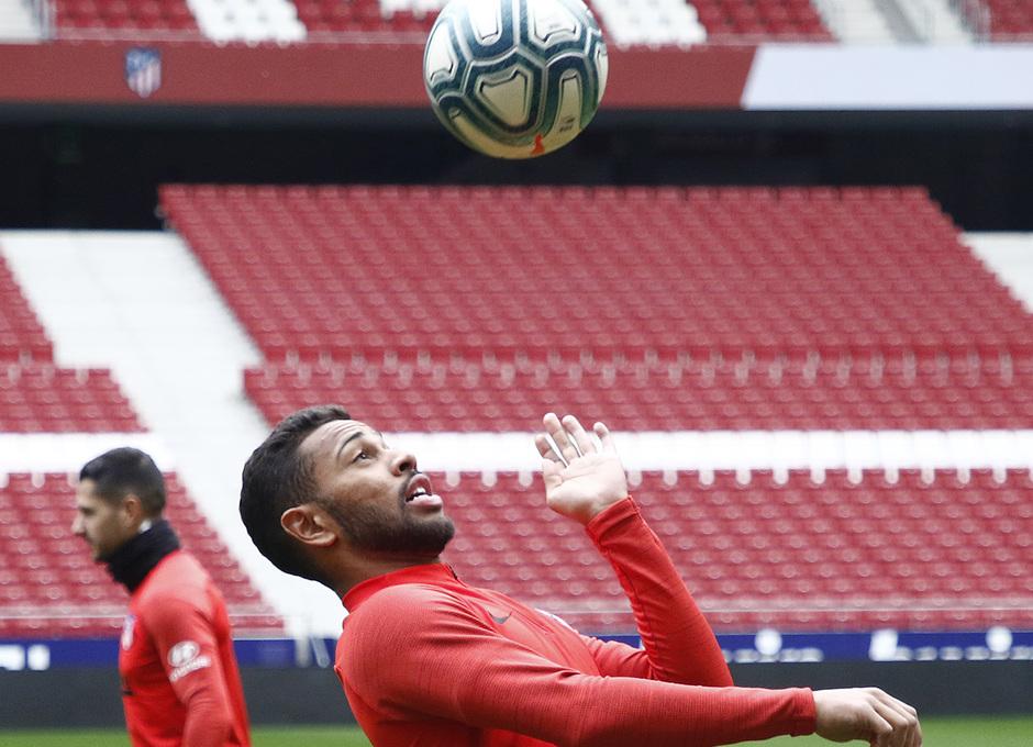 Temporada 19/20 | Entrenamiento en el Wanda Metropolitano | Lodi