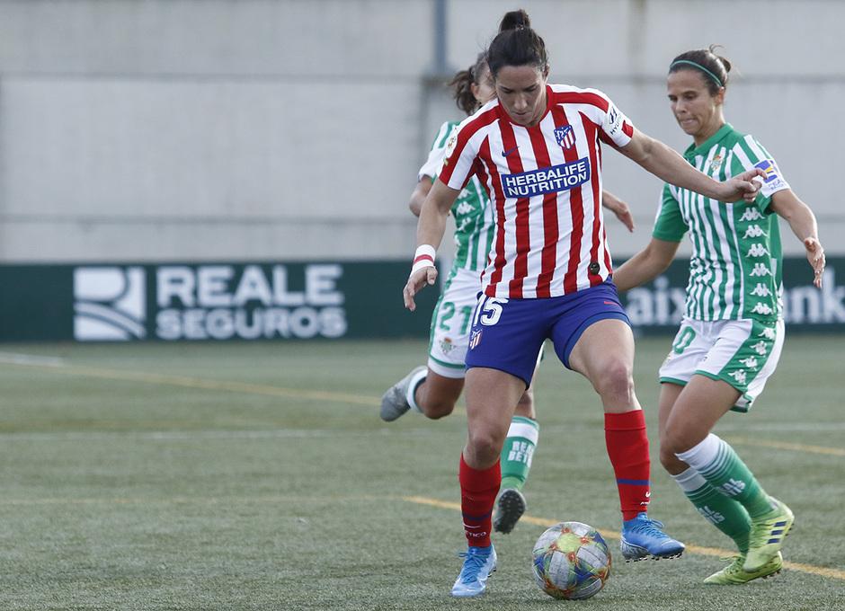 Temporada 19/20   Atlético de Madrid Femenino - Betis   Meseguer