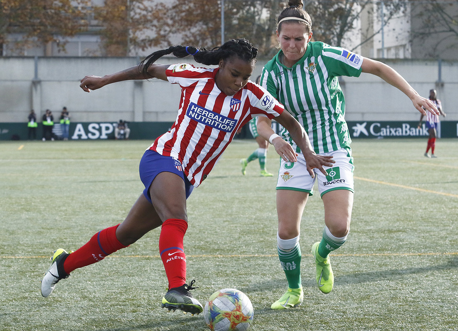 Temporada 19/20   Atlético de Madrid Femenino - Betis   Ludmila