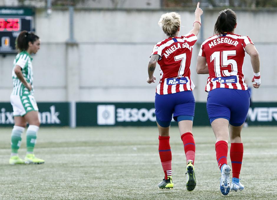 Temporada 19/20   Atlético de Madrid Femenino - Betis   Sosa y Meseguer