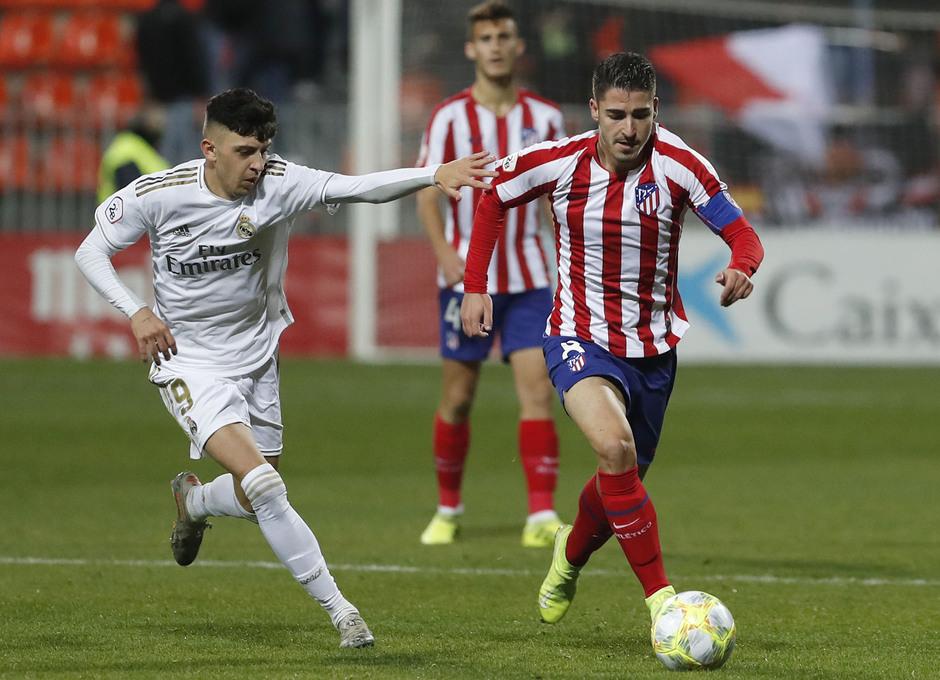 Partido Atlético de Madrid B - Real Madrid Castilla. Toni Moya