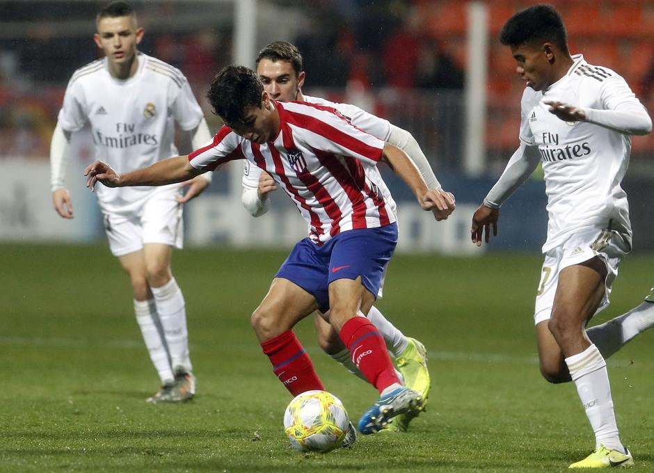 Partido Atlético de Madrid B - Real Madrid Castilla. Manu Sanchéz.