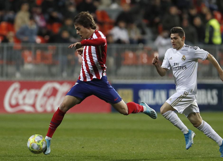 Partido Atlético de Madrid B - Real Madrid Castilla. Rodrigo Riquelme Roro