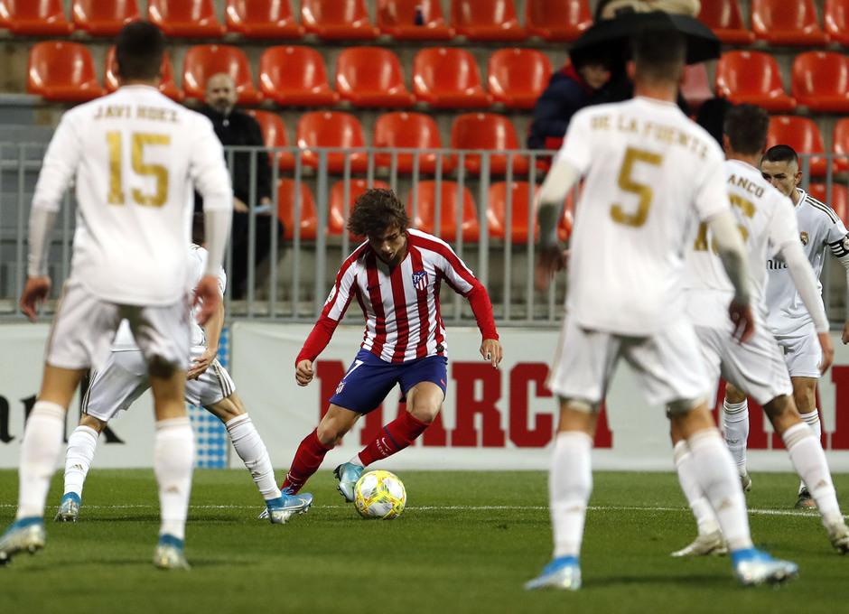 Partido Atlético de Madrid B - Real Madrid Castilla. Riquelme