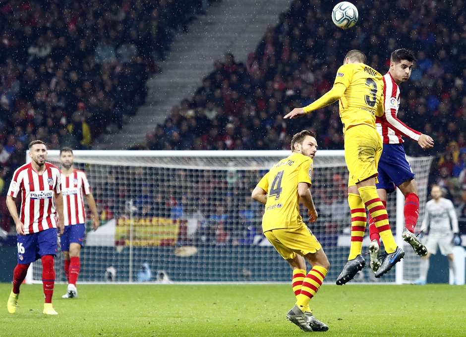 Temp. 19-20 | Atlético de Madrid-Barcelona | Morata