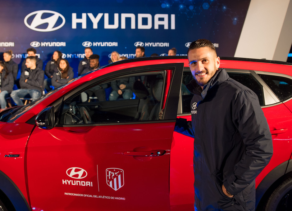 Temp. 19/20. Acto de Hyundai. Wanda Metropolitano. Koke