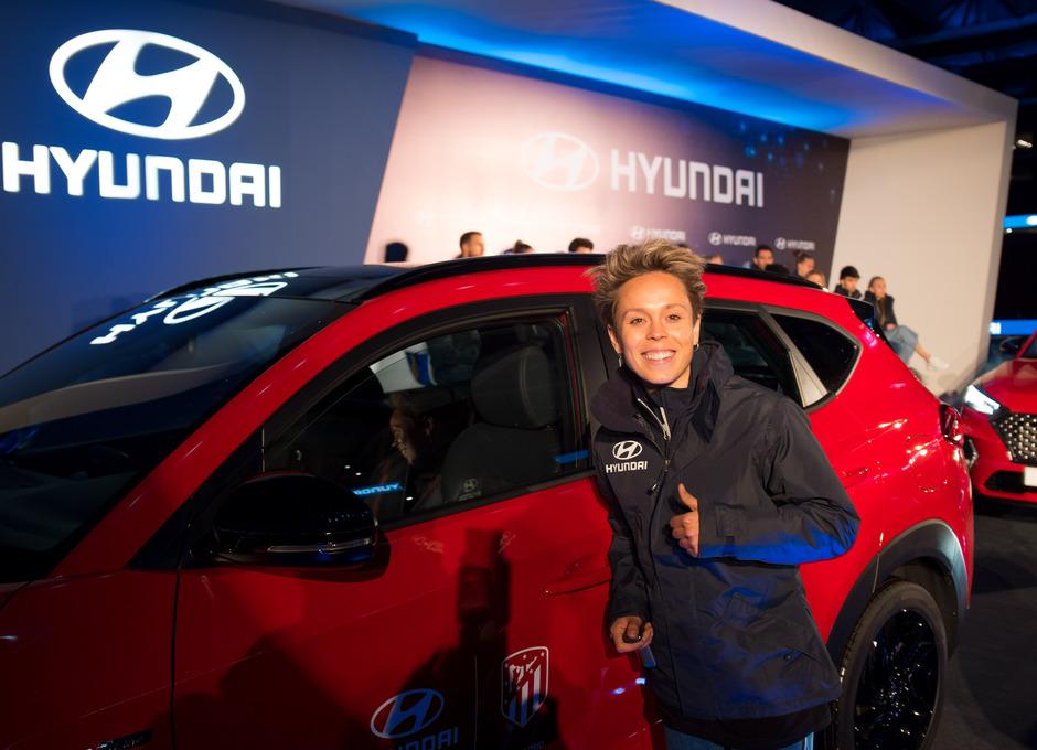 Temp. 19/20. Acto de Hyundai. Wanda Metropolitano. Amanda