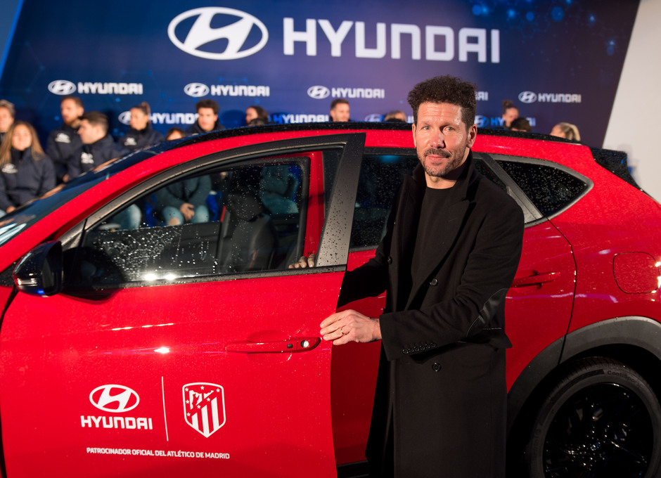 Temp. 19/20. Acto de Hyundai. Wanda Metropolitano. Simeone