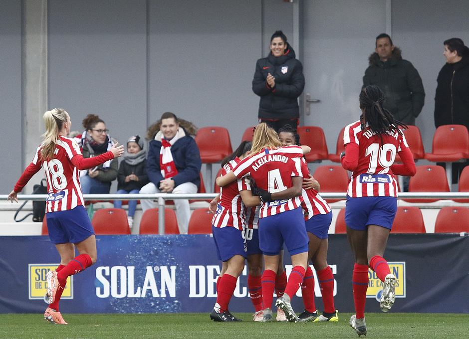 Temporada 19/20 | Atlético de Madrid Femenino - Athletic Club | Celebración