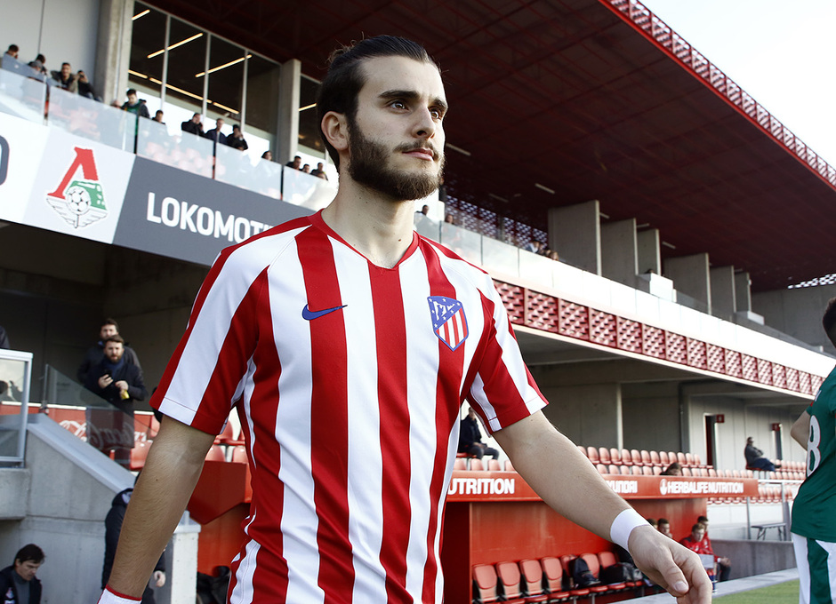 Temporada 19/20. Youth League. Atlético de Madrid Juvenil A - Lokomotiv. Salido