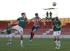 Temporada 19/20. Youth League. Atlético de Madrid Juvenil A - Lokomotiv. Tenas