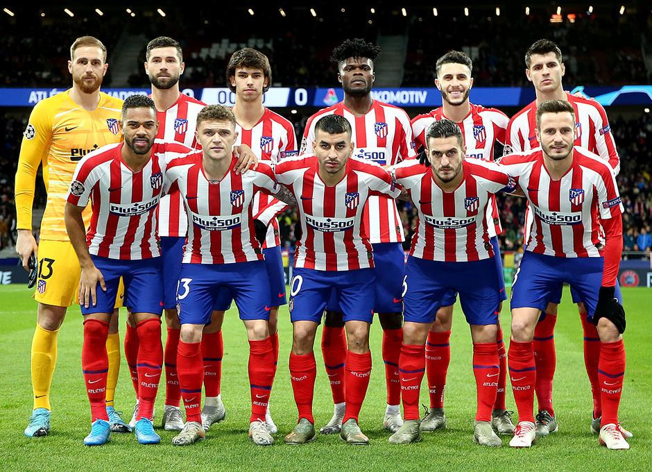 Temp. 19-20 | Atlético de Madrid - Lokomotiv | once
