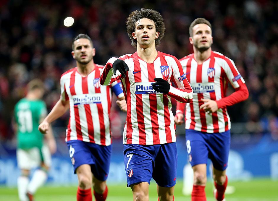 Temp. 19-20 | Atlético de Madrid - Lokomotiv | Joao Félix celebración
