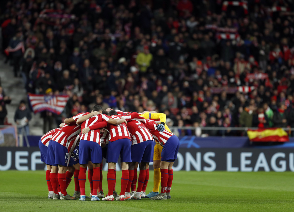 Temp. 19-20 | Atlético de Madrid - Lokomotiv | piña