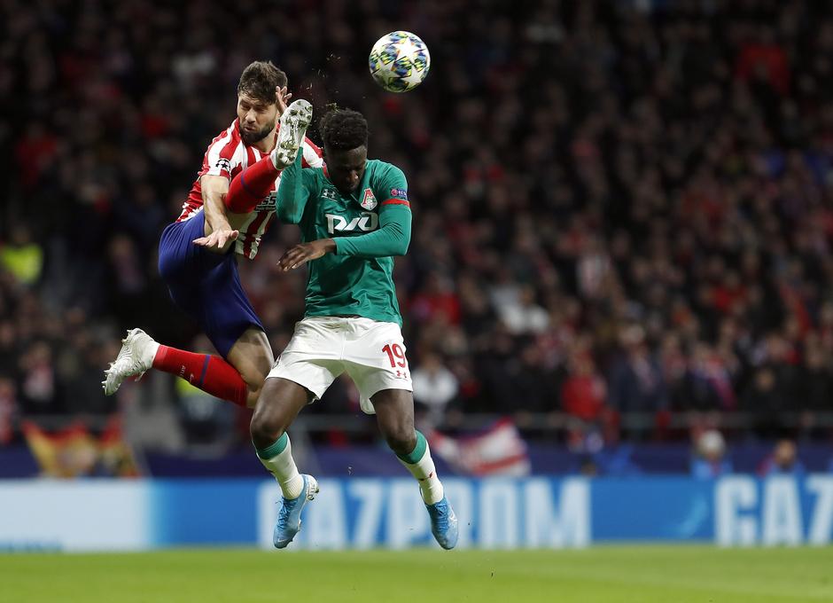 Temp. 19-20 | Atlético de Madrid - Lokomotiv | Felipe