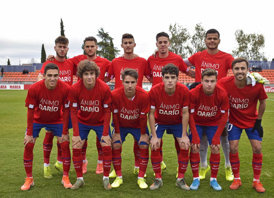 Temporada 19/20 | Atlético de Madrid B - Celta B | Ánimo Darío