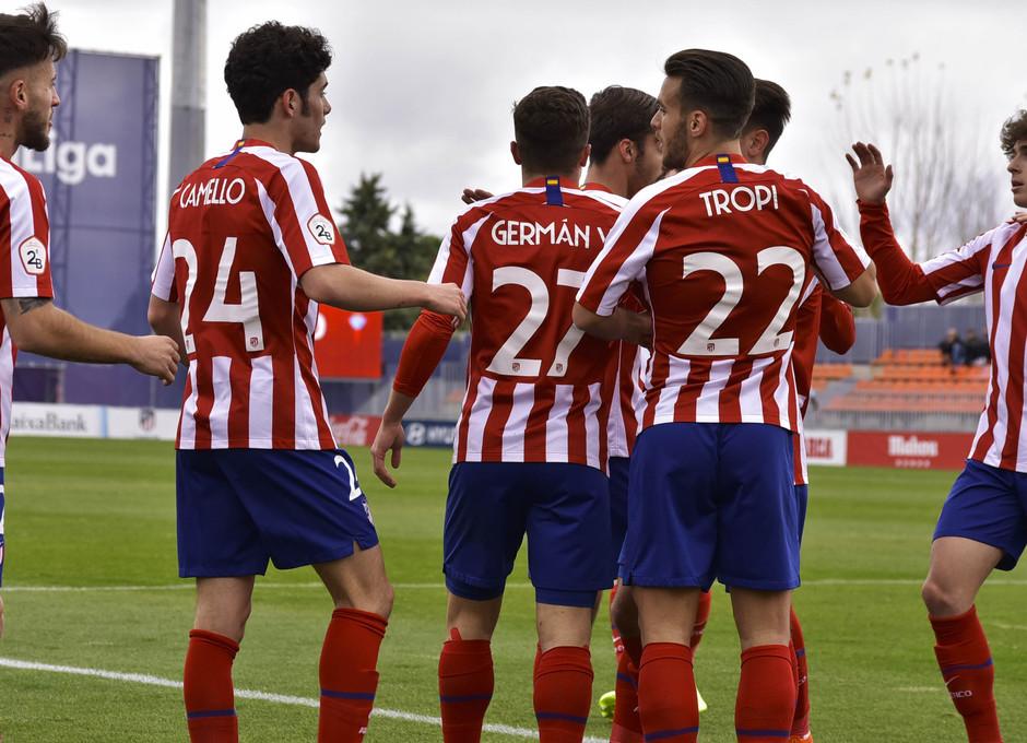 Temporada 19/20 | Atlético de Madrid B - Celta B | Gol