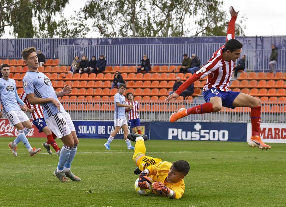 Temporada 19/20 | Atlético de Madrid B - Celta B | Sanabria